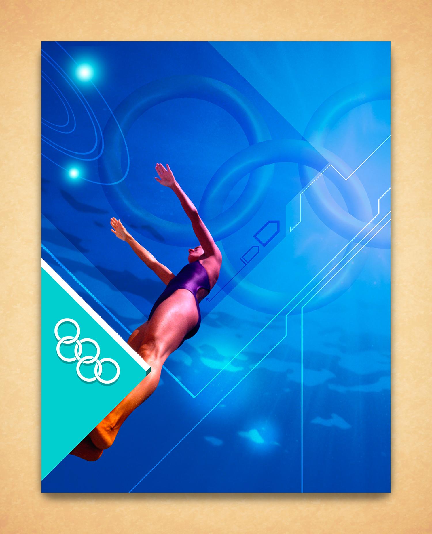 Sydney Olympics Poster