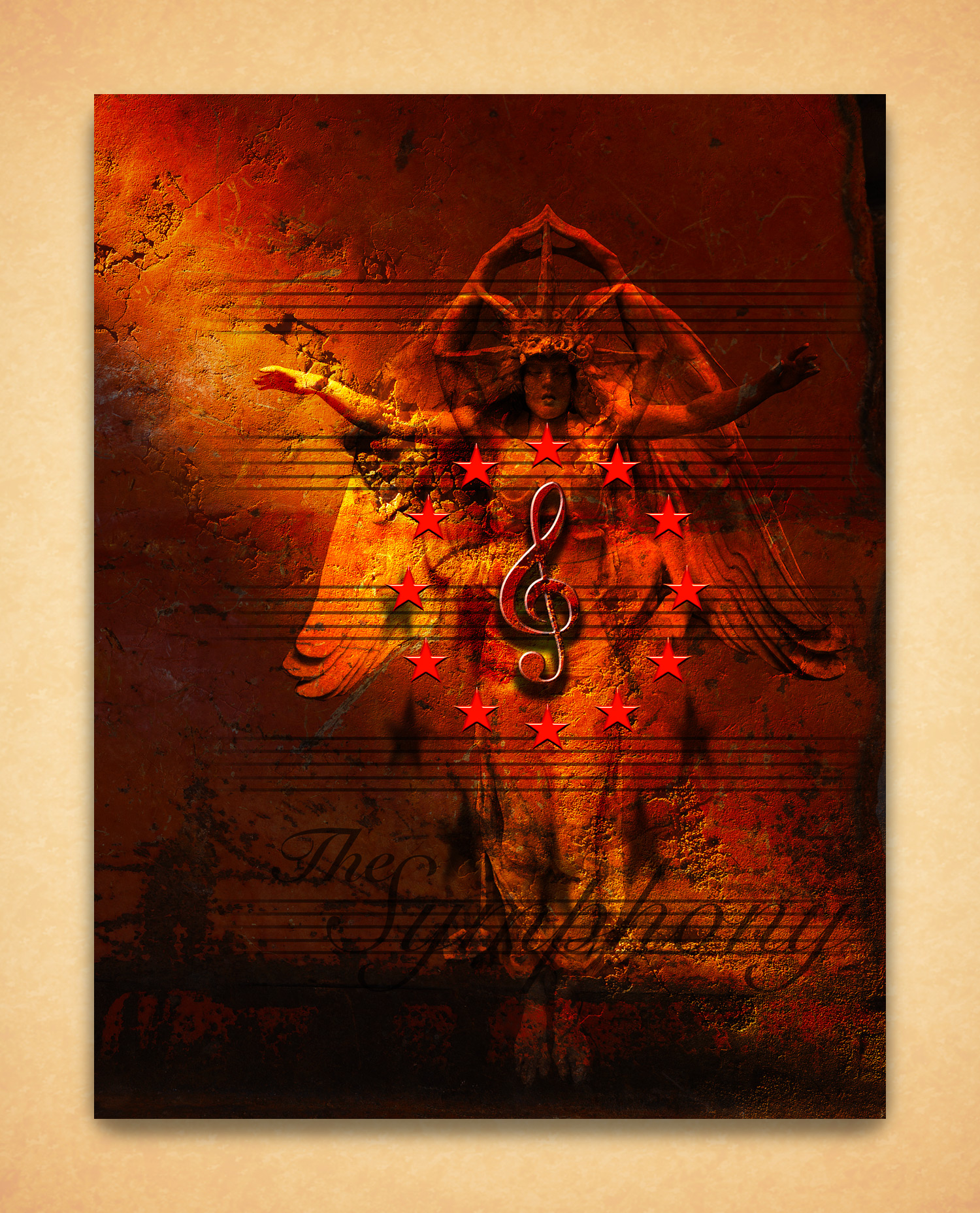 Bismarck Symphony Concert Poster