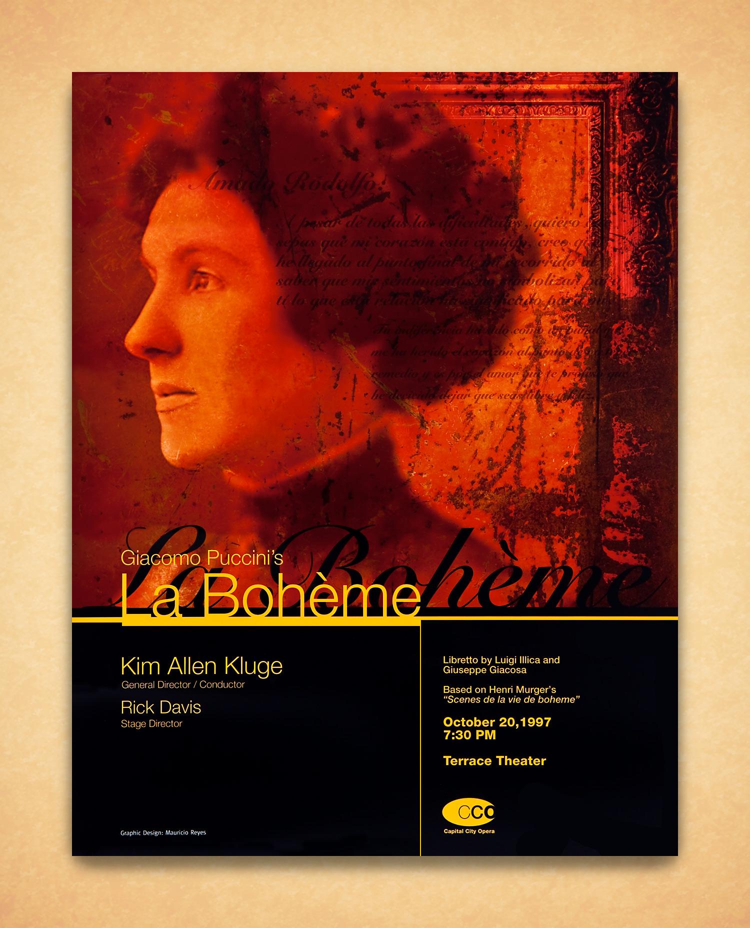 Kennedy Center Concert Poster