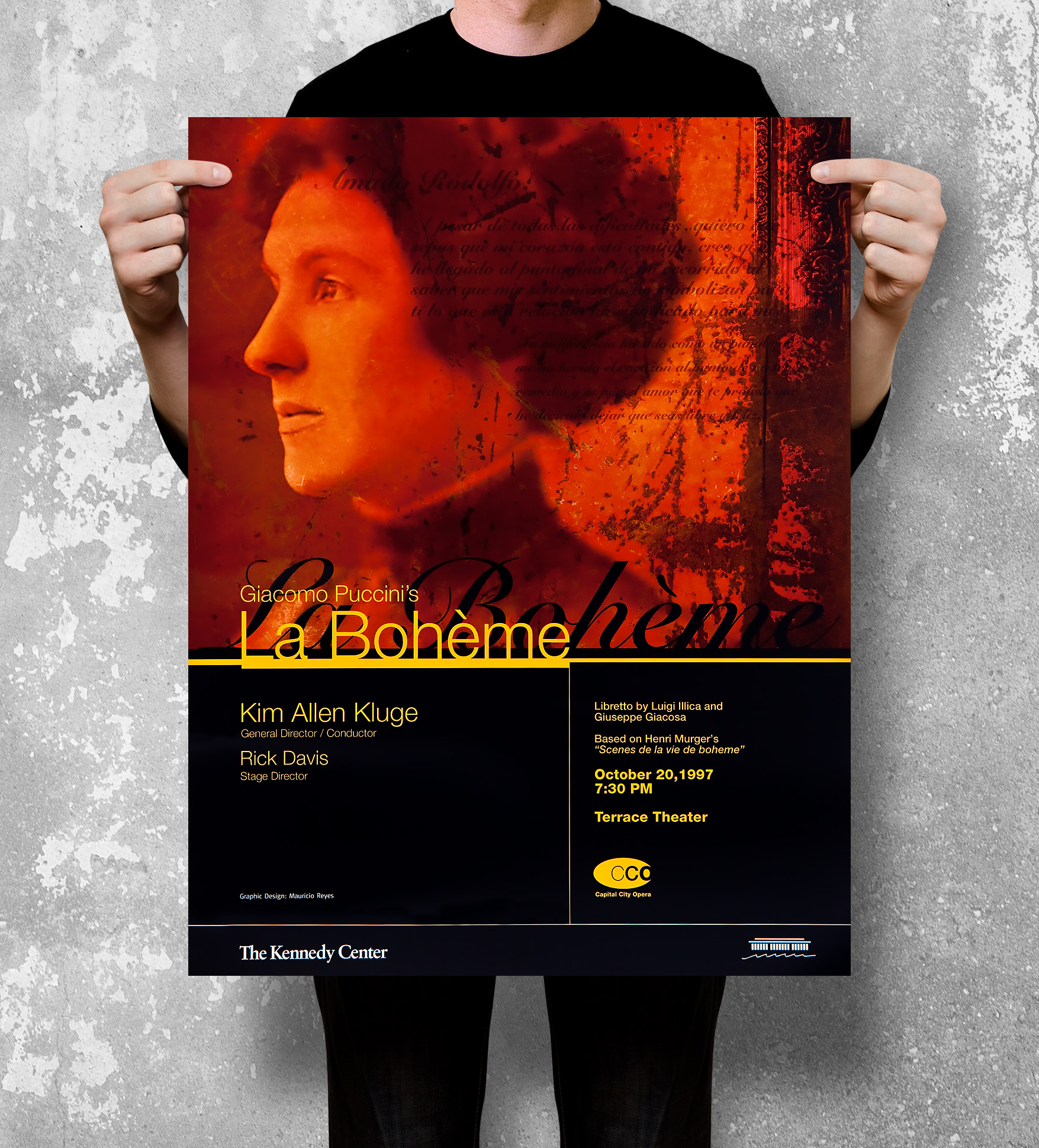 Kennedy Center poster design